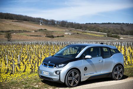 voiture électrique du Vertigo à Dijon