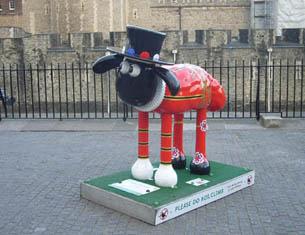 A Londres, sur les traces de Shaun le Mouton
