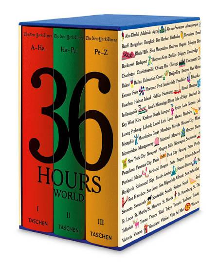 36 Hours World Taschen