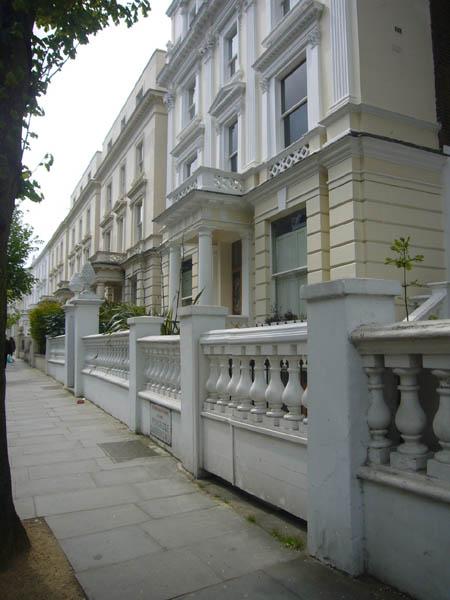 Pembridge gardens à Londres