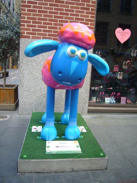 Shaun In The City à Londres