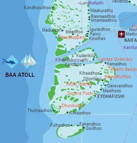 atoll de Baa