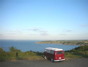 Sillonner la Bretagne en combi Volkswagen