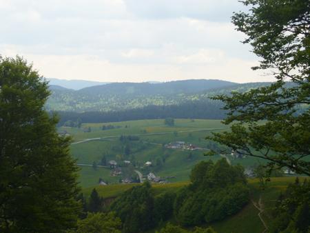 le Schauinsland en Forêt Noire