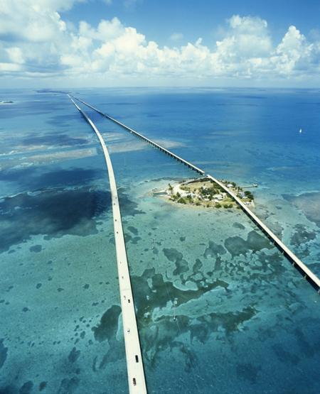 route des Keys en Floride