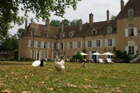 Château Hôtel de Vault de Lugny en Bourgogne
