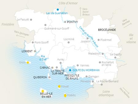 les îles du Morbihan