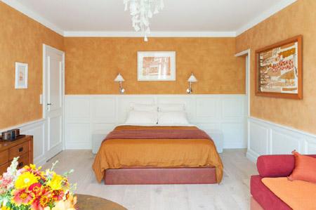 Suite Ocre rouille, Eden Ouest, maison d'hôtes à La Rochelle