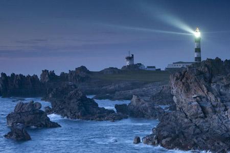 Assister à l'allumage des phares sur l'île d'Ouessant