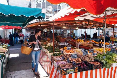 Marché couvert La Rochelle