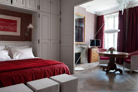 Suite Ocre Rouge, Eden Ouest, maison d'hôtes à La Rochelle