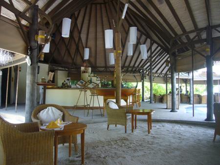 Conch bar au Coco Palm