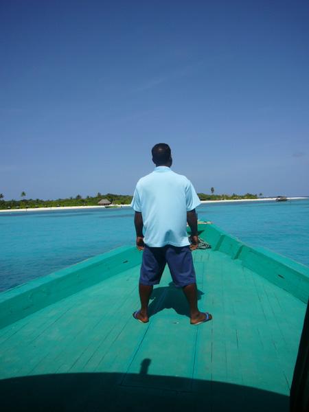 bateau vers Coco Palm