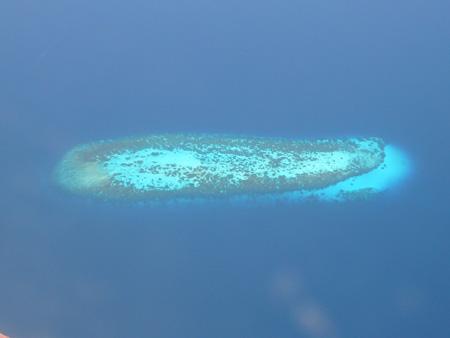 Les Maldives vues d'en haut