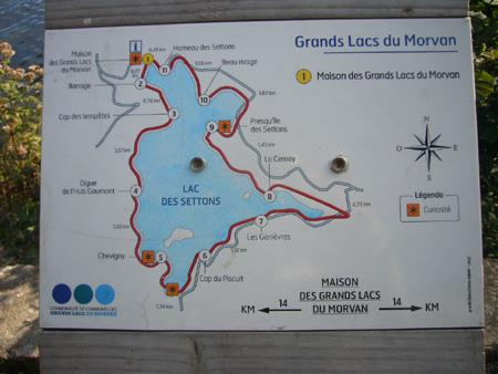 lac des Settons, parc du Morvan