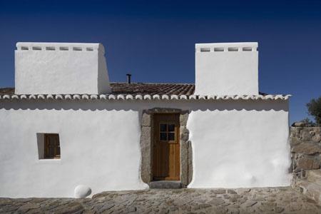 Casas Caiadas dans l'Alentejo
