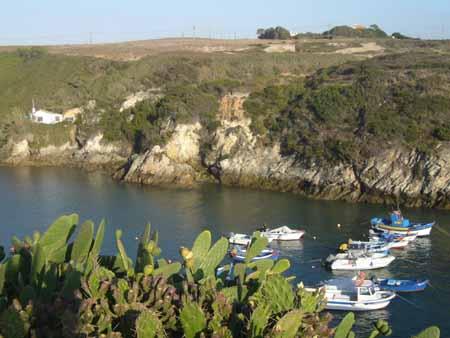 Porto Covo dans l'Alentejo