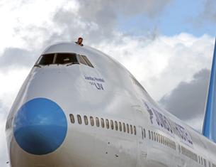 Expérience insolite : dormir dans un avion
