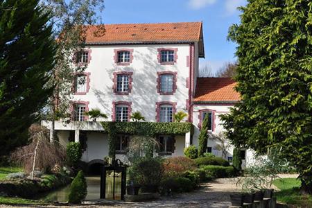 Le Moulin Page dnas la Sarthe