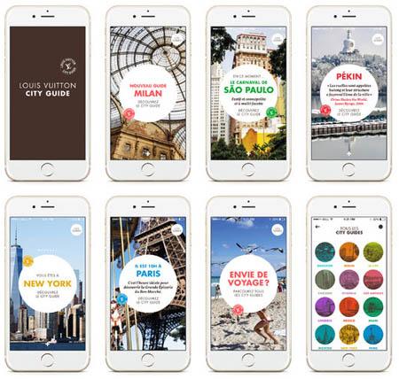 Appli City Guides Louis Vuitton