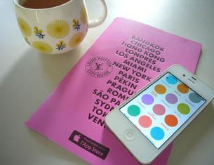 Invitation au voyage avec l'appli des City Guide Louis Vuitton