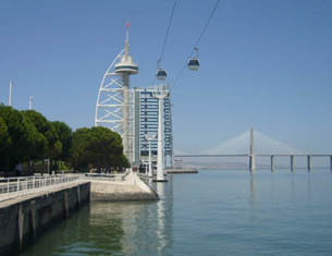 Le Parc des Nations à Lisbonne