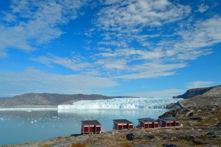 Glacier Lodge Eqi au Groenland