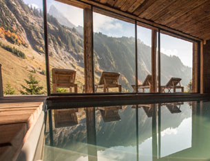 Le Chalet 1864 au Grand Bornand, un secret à garder