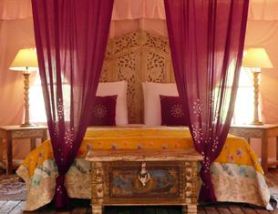 Glamping inspiré des Mille et Une Nuits au Palika Lodge