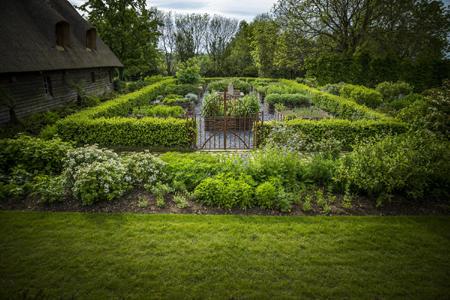 Jardin des Simples domaine d'Ablon