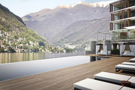 Il Sereno au bord du Lac de Come en Italie