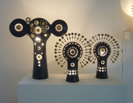 Consortium Dijon, lampes et miroirs de Georges Pelletier