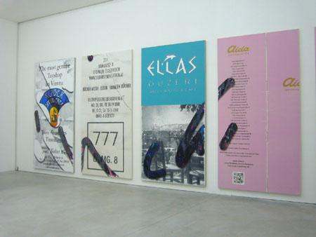 Consortium Dijon, tableaux de Laura Owens