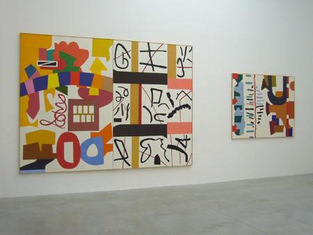 Consortium Dijon, toiles de Shirley Jaffe
