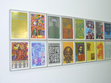 Consortium Dijon, impressions sur toile Pop Art d'Eduardo Paolozzi