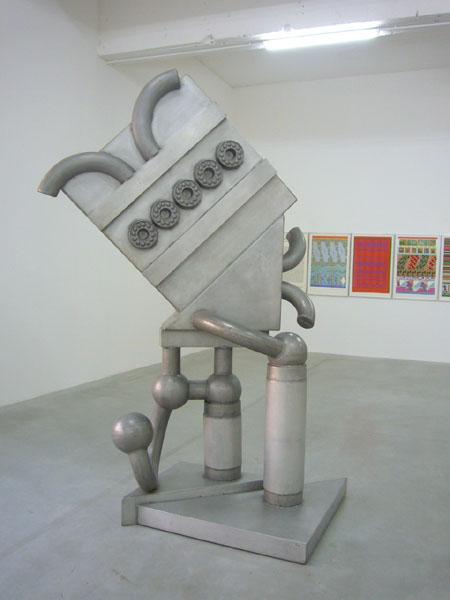 Consortium Dijon, sculptures d'Eduardo Paolozzi