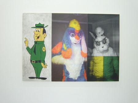 Consortium Dijon, toiles de Julia Wachtel