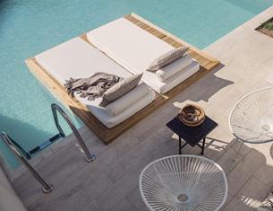 Le Casa Cook, un nouvel hôtel à l'esprit bohème à Rhodes