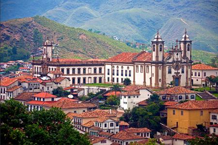 Minas Gerais, héritage colonial portugais