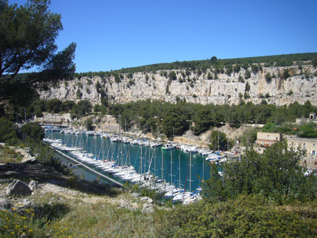 Calanque de Port-Miou à Cassis