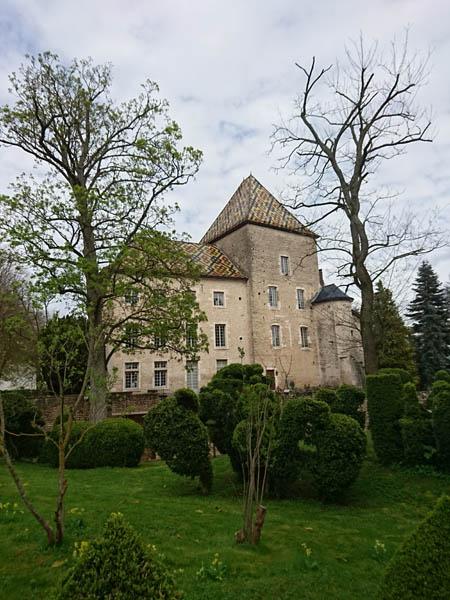 Château de Santenay en Bourgogne