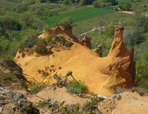 A la découverte du Colorado provençal de Rustrel