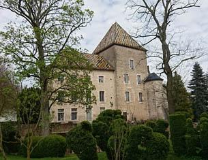 Visite du Château de Santenay en Bourgogne