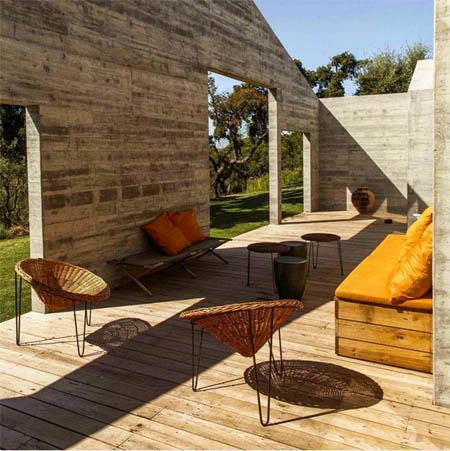 Les terrasses de Comporta, Melides, Portugal