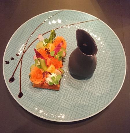 Le Grand Hôtel La Cloche à Dijon, restaurant Les Jardins by La Cloche