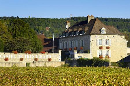 Le Castel de Très Girard à Morey-saint-Denis