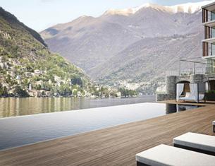 Ouverture d'Il Sereno au bord du Lac de Côme en Italie