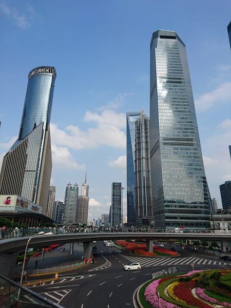 Visite de Shanghai