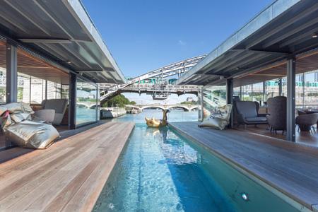 OFF Paris Seine, premier hôtel flottant à Paris