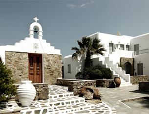 Hôtel San Giorgio, luxe bohème à Mykonos